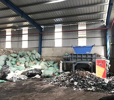越南工业垃圾处理