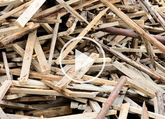 园林木材破碎